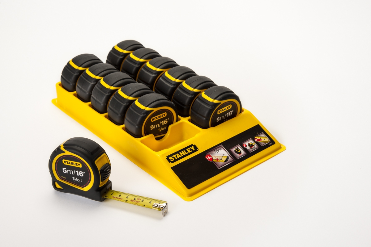 Stanley 5m Tape Measure George Roberts Scaffolding Basic 16