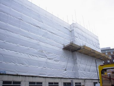 Monarflex Scaffband Clear, Scaffold Sheeting