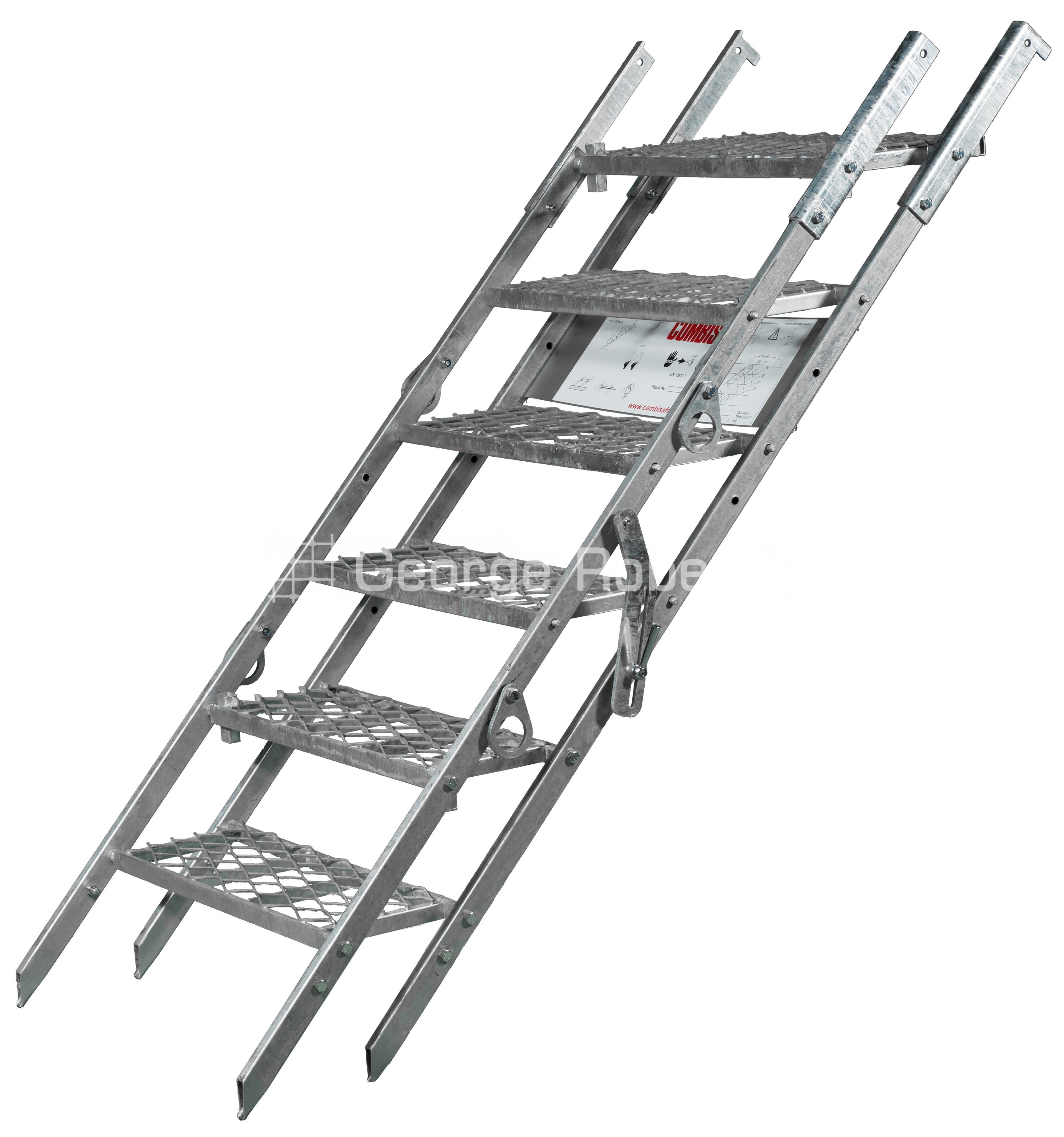 Scaffolding For Stairs : Combisafe site stair george roberts scaffolding