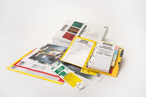 Scafftag Yellow Book for Ladders